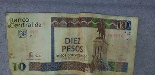 billetes de cuba