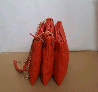 Bolso coral