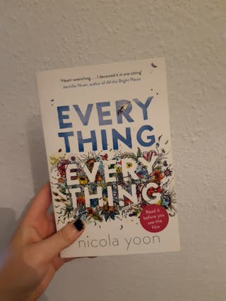 Libro Everything, Everything Nicola Yoon en Ingles