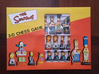 Ajedrez Los Simpsons NUEVO