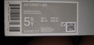 Custom made nike air force 1 size uk5