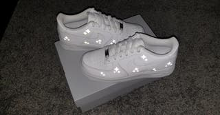 Custom made nike air force 1 size uk5