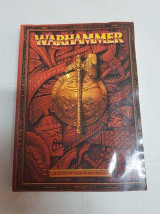 Libro Warhammer Regñas de juego