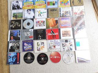 variety of CDs