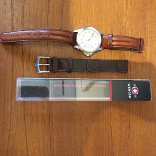 Reloj Wenger marrón