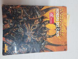 Libro Warhammer Hordas del caos