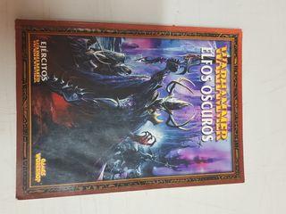 Libro Warhammer Elfos Oscuros