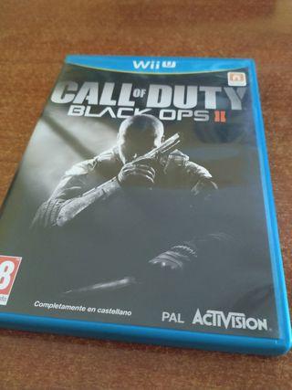 Juego COD Black Ops 2 para Wii u