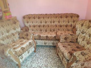 Lote de 3 sofas