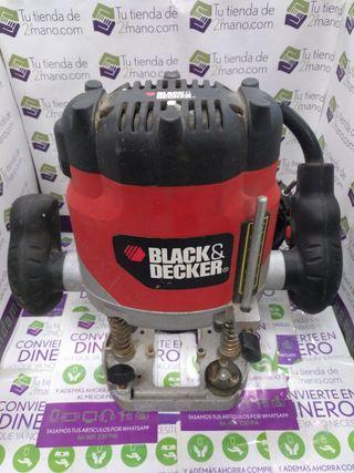FRESADORA BLACK & DECKER KW850E