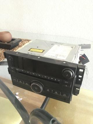 Radio CD MP3 coche doble din Chevrolet Captiva