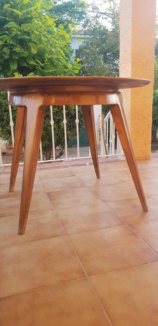 mesa madera vintage
