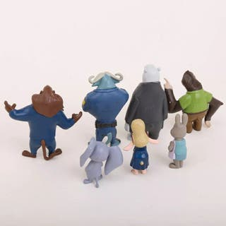 Pack figuras Zootropolis