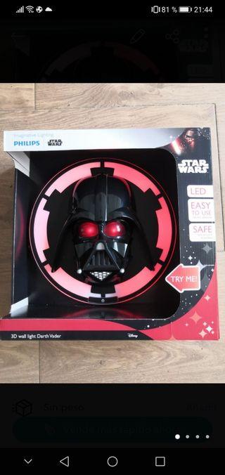 Lámpara Plafón Darth Vader Philips/Disney NUEVO