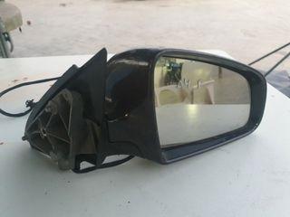 /> Negro exterior derecha eléctricamente calefactable convexo para renault 08