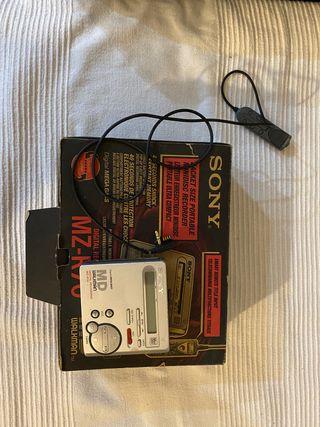 Sony minidisc mzr70