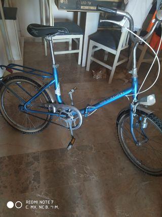 Bicicleta clásica plegable
