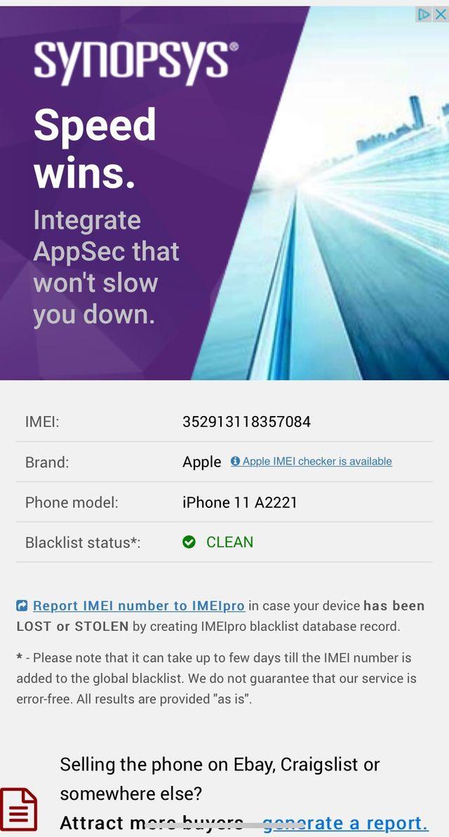 iPhone 11 Black 64gb
