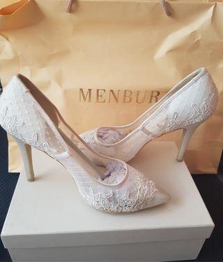 Impresionantes Zapatos de Novia