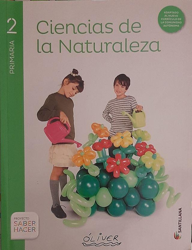 Libro de texto - Ciencias de la Naturaleza 2° COMA