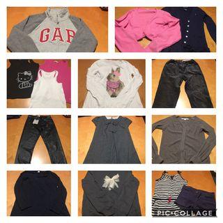 Lote ropa niña 10-12 años