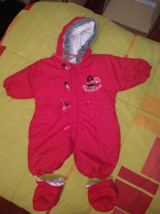 Buzo / Abrigo bebé de 3 a 18 meses