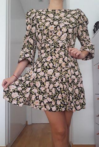 Vestido flores Zara L