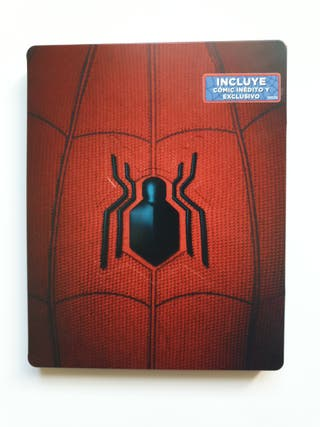 Steelbook Bluray SpiderMan Homecoming