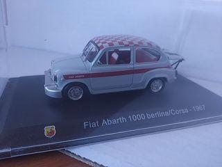 Fiat Abarth 1000 berlina / Corsa 1:43 nuevo