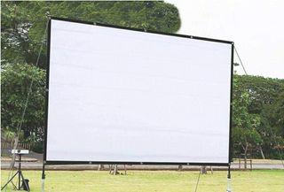pantalla gigante con proyector full hd
