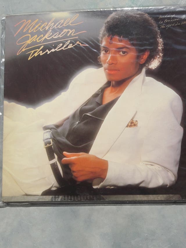 "Long Play vinilo ""Thriller - Michael Jackson-"