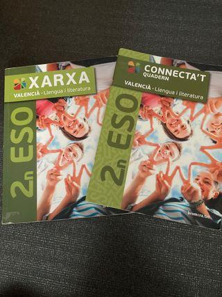 Libro de Valenciano + Connecta't 2 Eso
