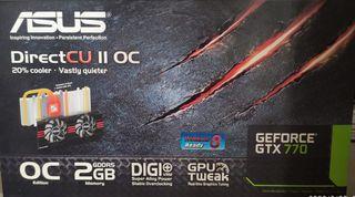 tarjeta grafica Asus gtx 770