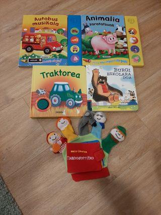 Libros infantiles, Haur Liburu musikalak