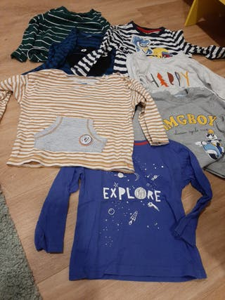 Lote Camisetas 18-24 meses