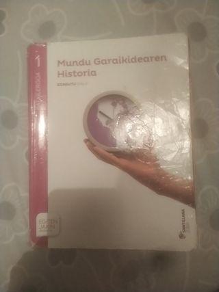 MUNDU GARAIKIDEAREN HISTORIA BATX1 SANTILLANA