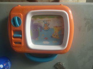 televisor canta nanas a bebes