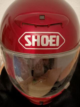 casco integral de mujer SHOEI original