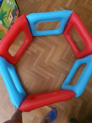 Parque infantil y parque de bolas