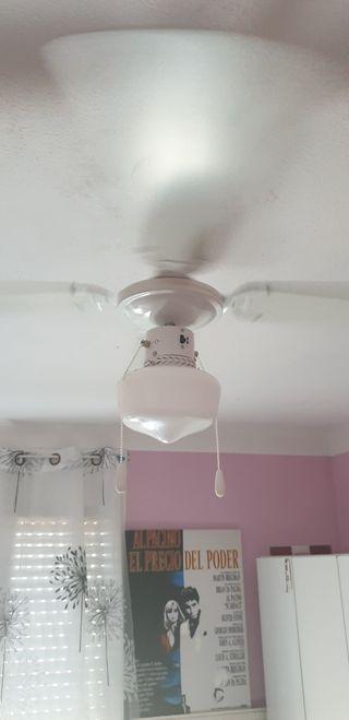 Lámparas con ventilador de segunda mano en Rubí en WALLAPOP