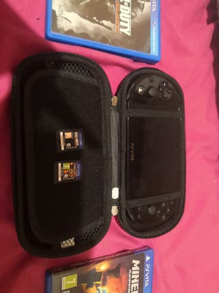 Playstation Vita (negra) negocio hasta 100 €