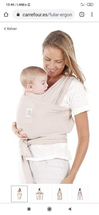 Fular portear bebé