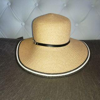 Sombrero rafia playa