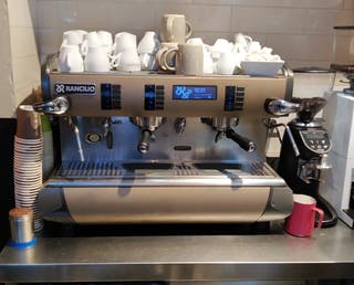 Cafetera Rancilio de segunda mano en WALLAPOP