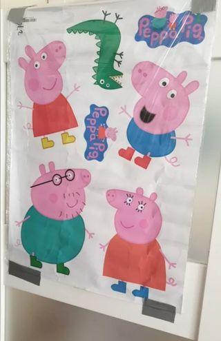 VINILO PEPPA PIG DECORACIÓN HABITACION INFANTIL