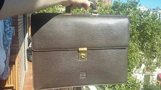 Cartera/maletín Loewe (auténtico)