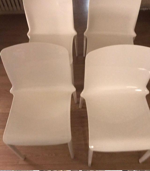 Lote de 4 sillas Tiffany de Casprini