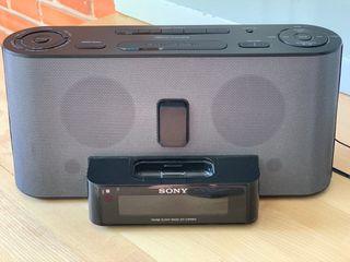 Dock Station Sony con adaptador Bluetooth