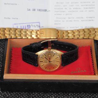 Reloj OMEGA SEAMASTER ORO 18 KTS FULL SET