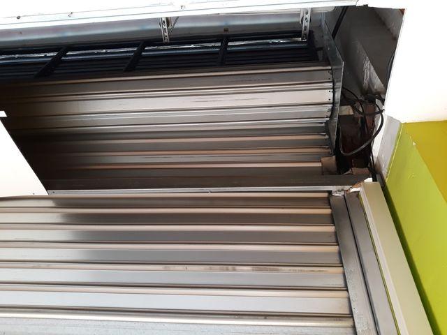 persiana enrrollable garage